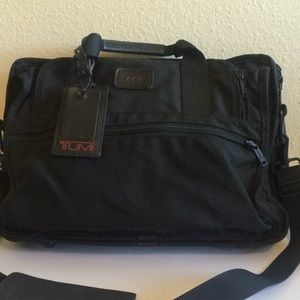 Vintage TUMI ballistic nylon laptop briefcase bag